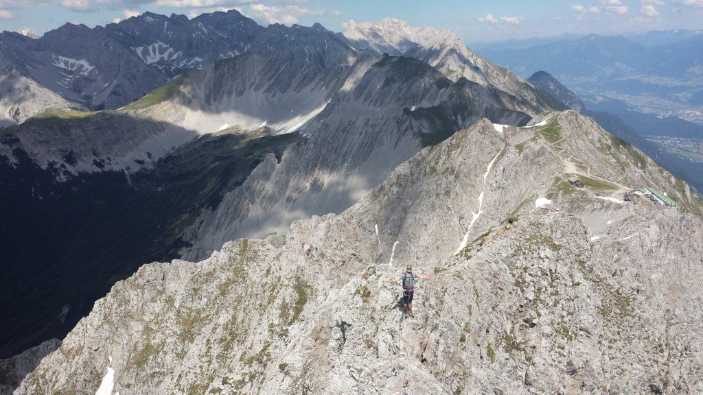 Innsbruck, via ferrata Nordkette