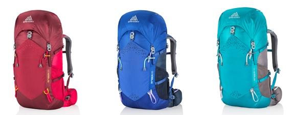 Plecaki Amber dostępne są w 3 wariantach kolorystycznych.
