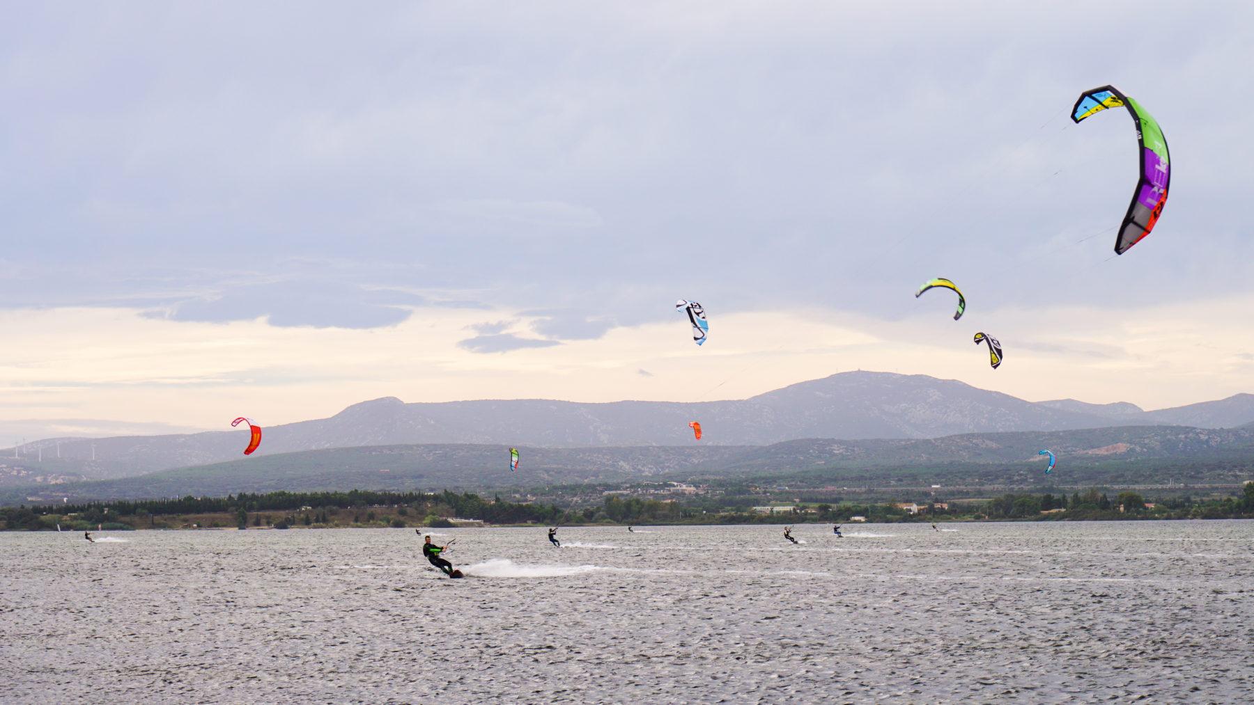 Kitesurfing na Gardzie (Włochy)