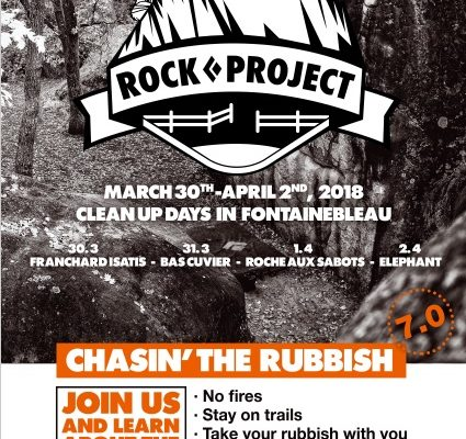 THE ROCK PROJECT: CHASIN-THE-RUBBISH w Fontainebleau!