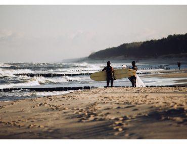 Surfing zimą