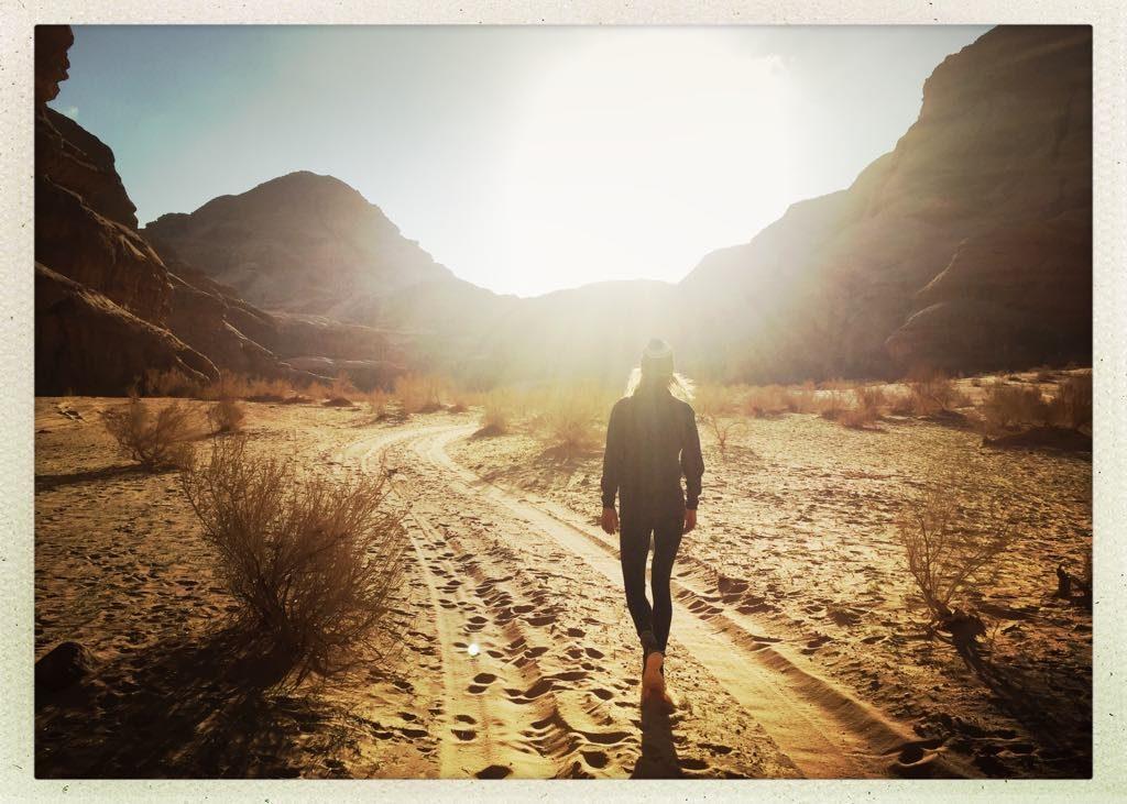 IN A GALAXY FAR FAR AWAY… Wadi Rum